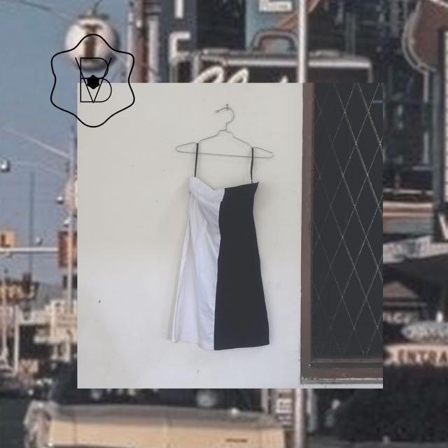 Dress hitam putih kehidupan