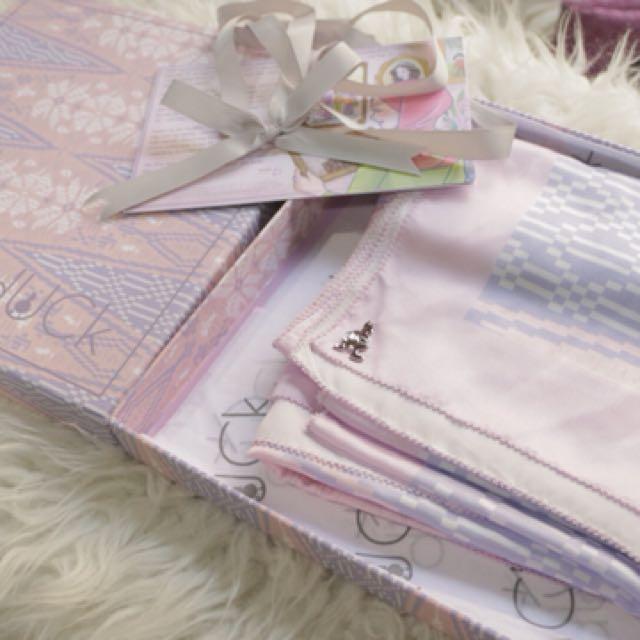 Duckscarves Songket Lilac