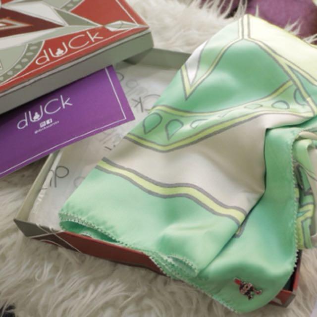 Duckscarves SQ Kalei in Green