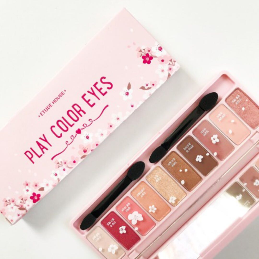 Etude house play color eyes cherry blossom palette