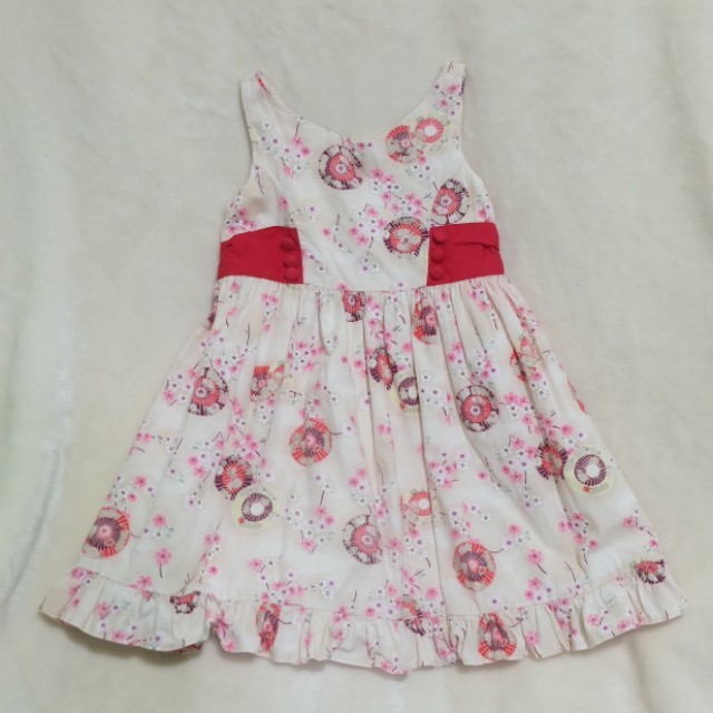 EUC Periwinkle Dress for 1 year old