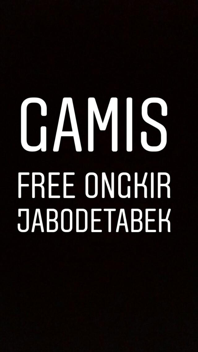 FREE ONGKIR GAMIS