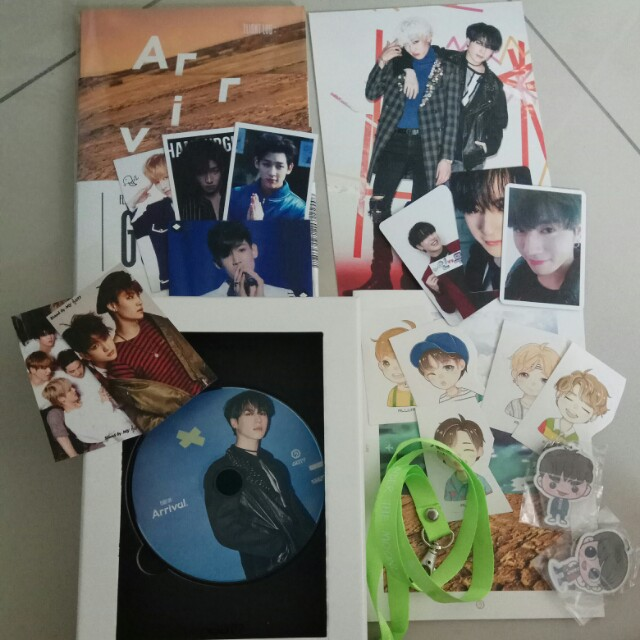 Got7 Arrival Repackage album with Yugyeom CD plate