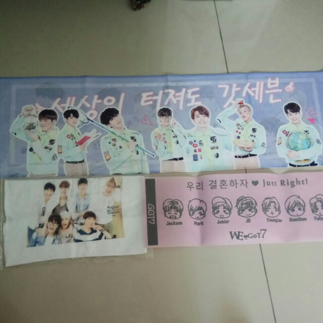 Got7 fangroup towel
