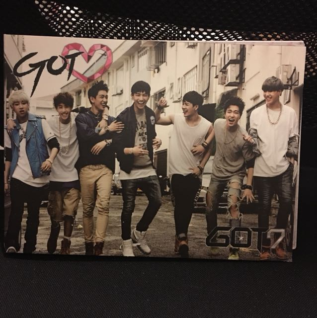GOT7 got love album