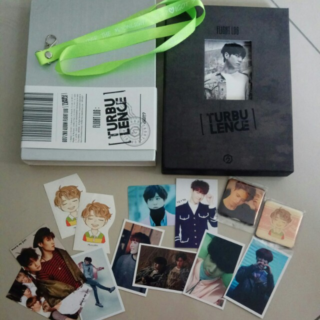 Got7 Yugyeom turbulence album (free postage)