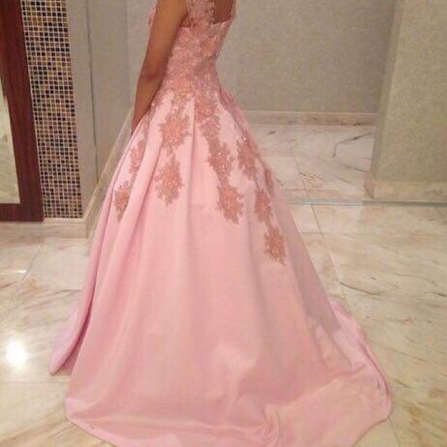 Gown - Pink (for JS Prom, Debut, etc.), Women\'s Fashion, Clothes on ...