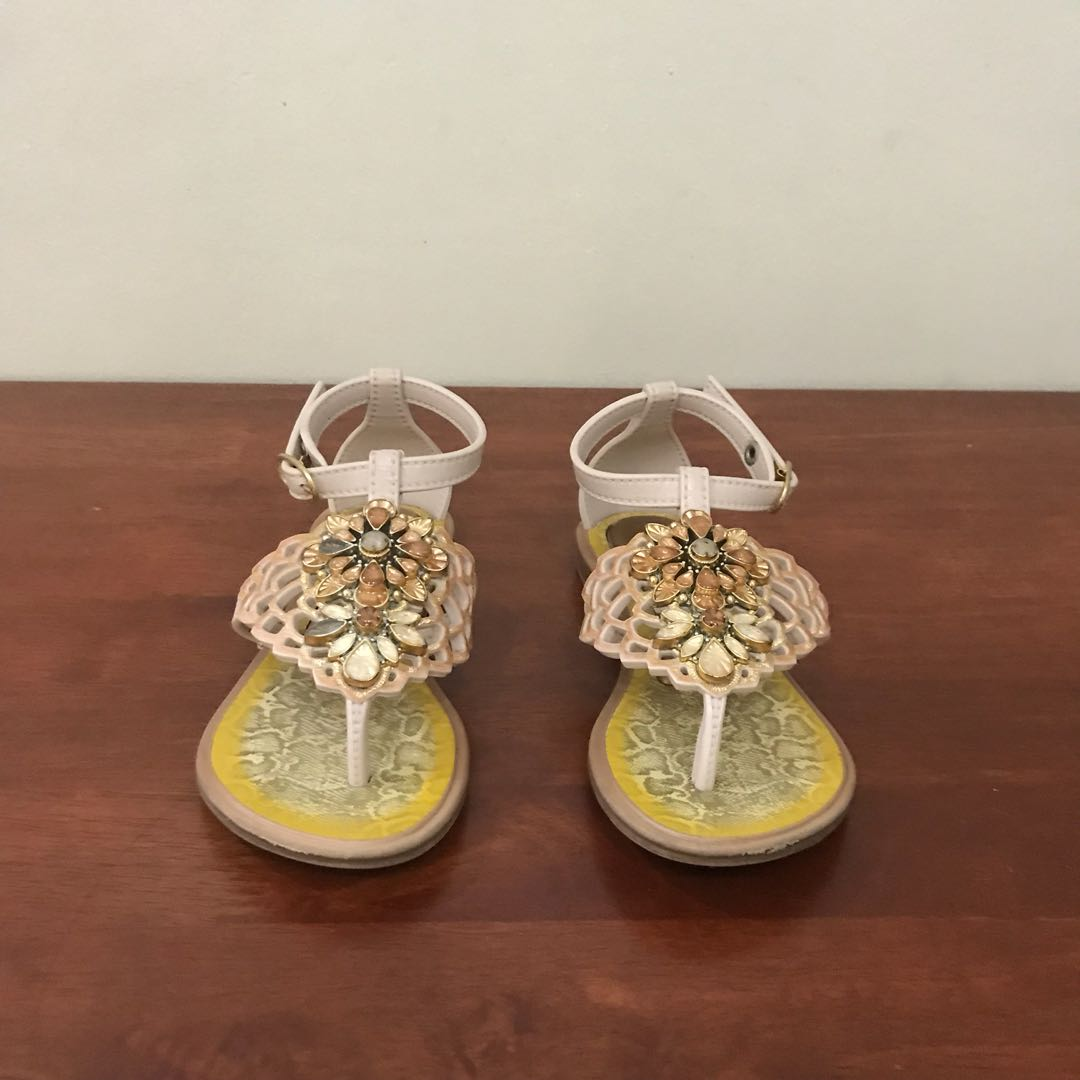 Grendha studded sandals size 10