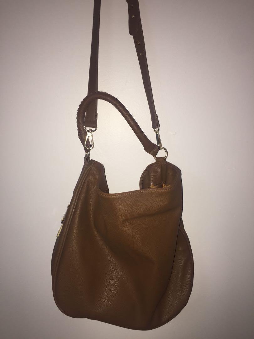 H&M brown bag