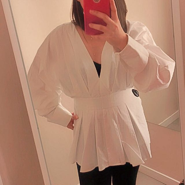 h&m longsleeve top blouse