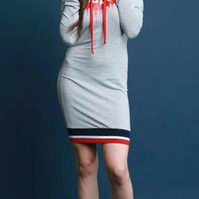 Hoodie dress/shi