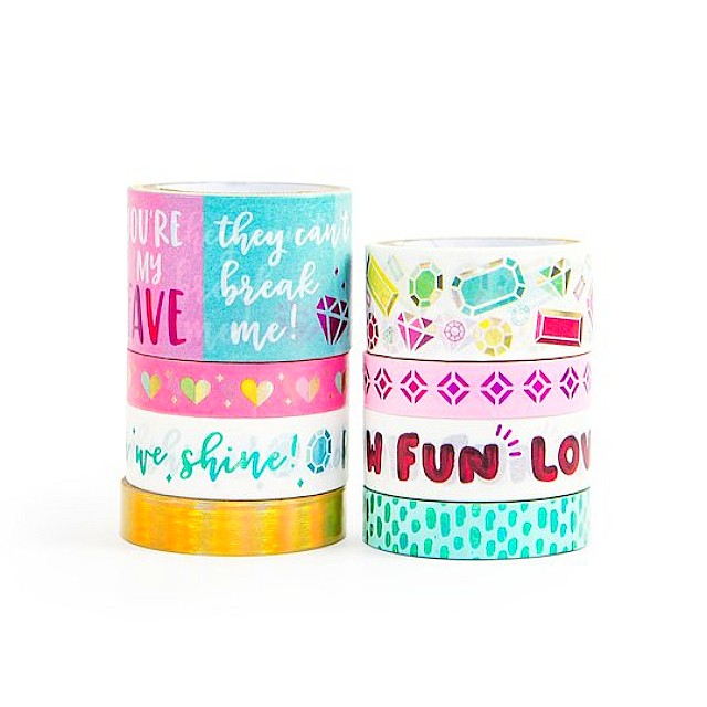 Hot Foil Washi Tapes by Craft Smart