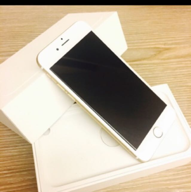 I phone 6 64g gold colour