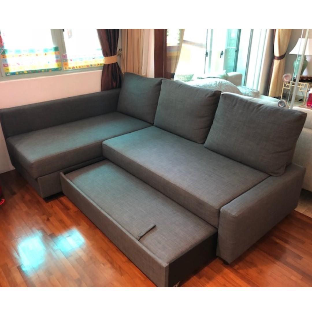 Ikea Sofa Bed Friheten Like New