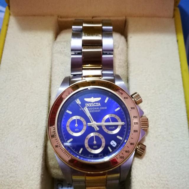 Invicta Chronos Stainless Watch