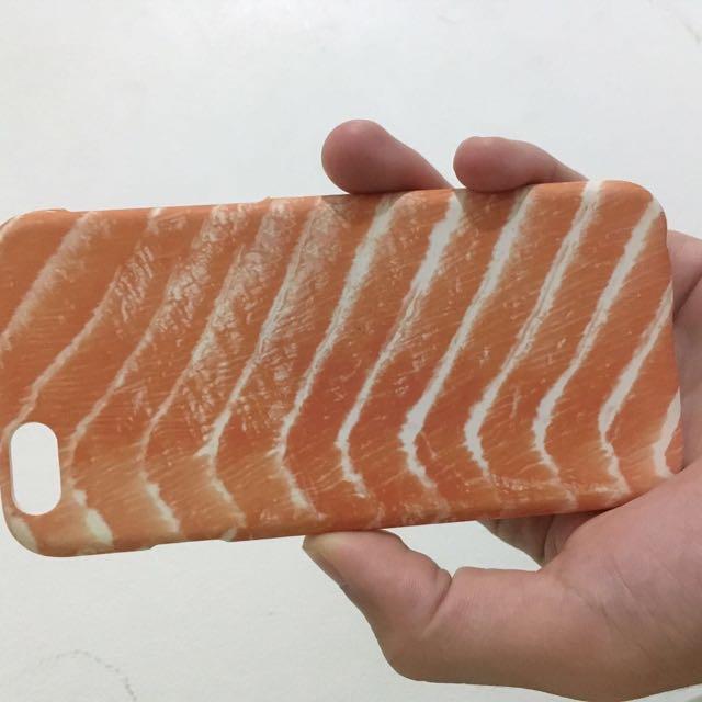 Iphone鮭魚手機殼