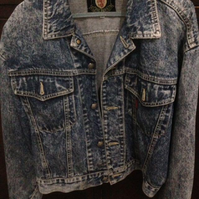 jaket jeans import BKK