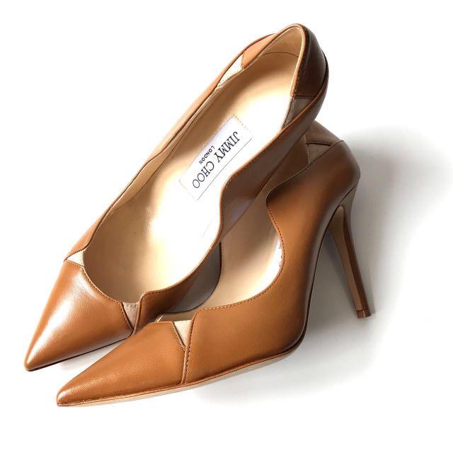 Jimmy choo heels camel