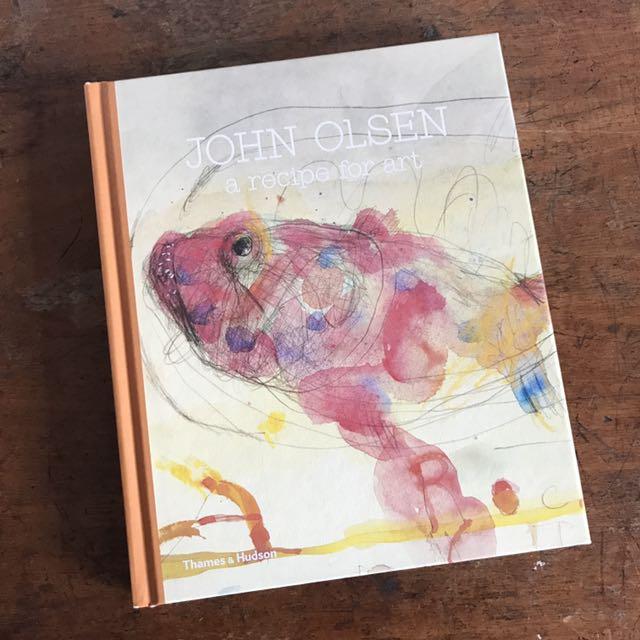 John Olsen 'a recipe for art'