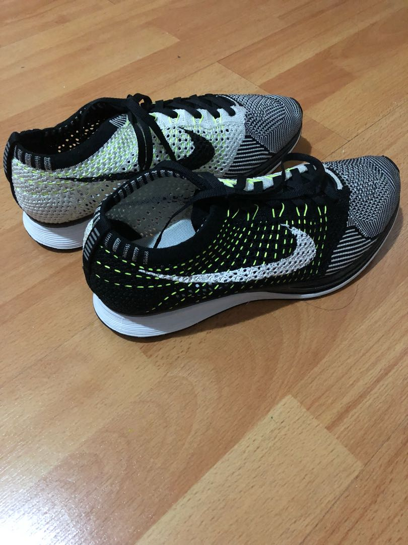 e7d434792e89 ... real jual murah original nike flyknit racer kondisi 97 mens fashion mens  footwear on carousell 396fb