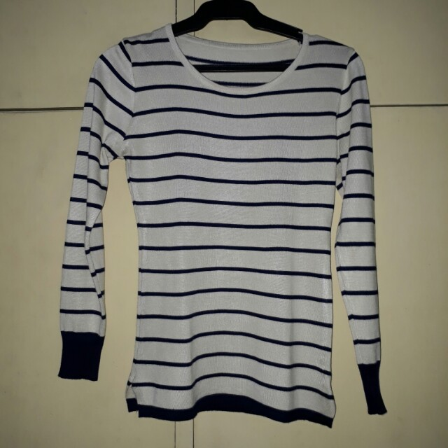 knitted stripes top