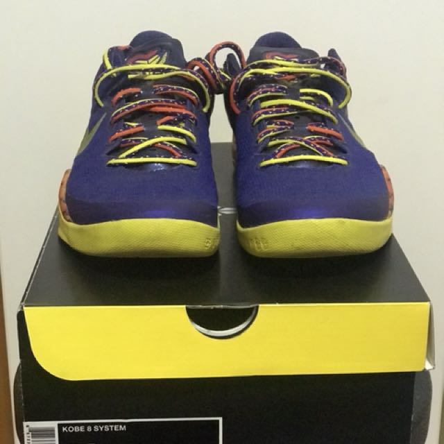 big sale fe5ff 189eb Kobe 8 System Barcelona Basketball Shoes, Men s Fashion, Footwear on  Carousell