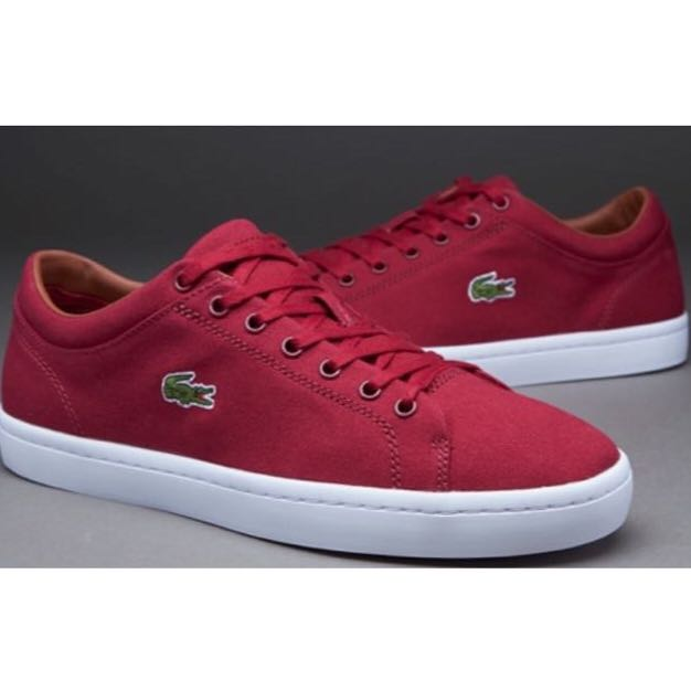 345083cb1 Lacoste Marcel Chunky TC FPM Mens Trainers in Dark Red