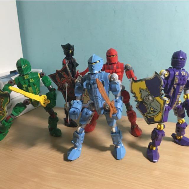 LEGO 'Knights Kingdom' Figurines