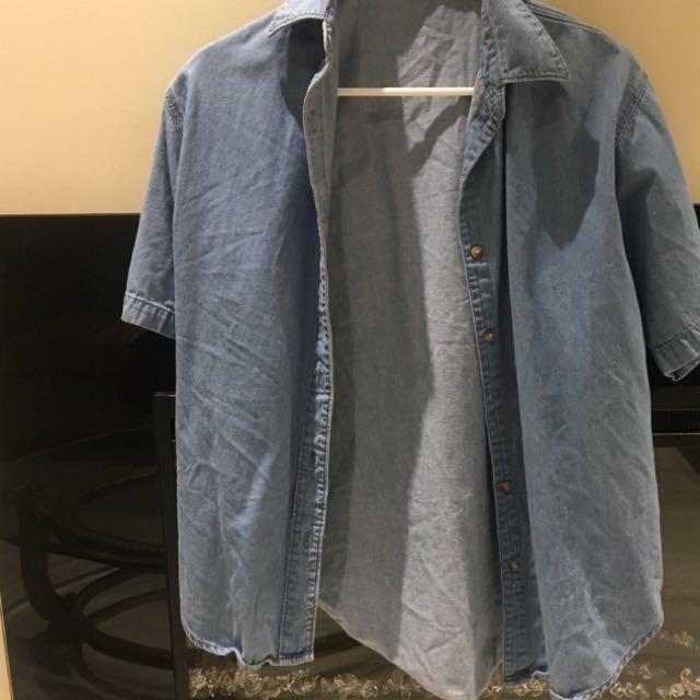 Lightweight Light Blue Denim Jacket