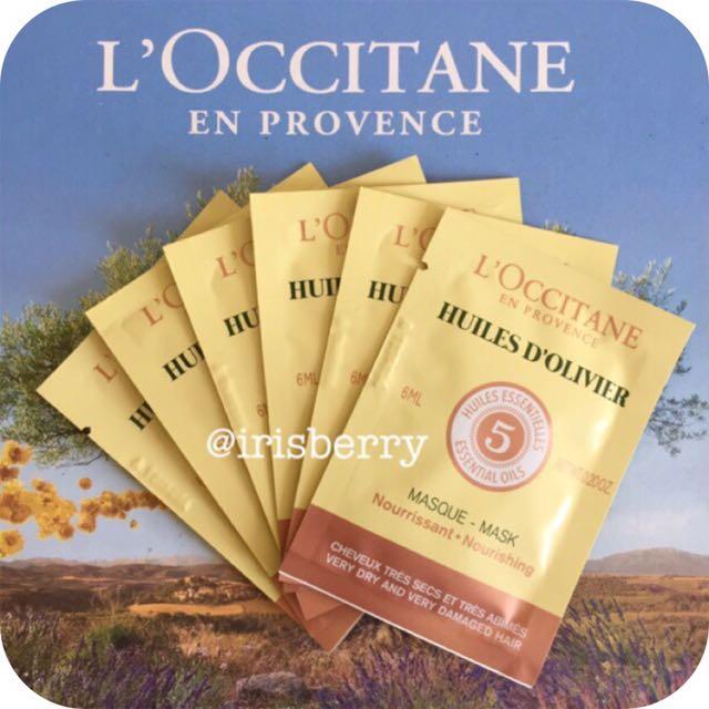 L'occitane Huiles D'olivier Hair Care Set