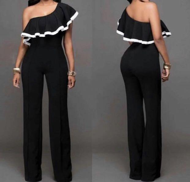 Long jumpsuit black