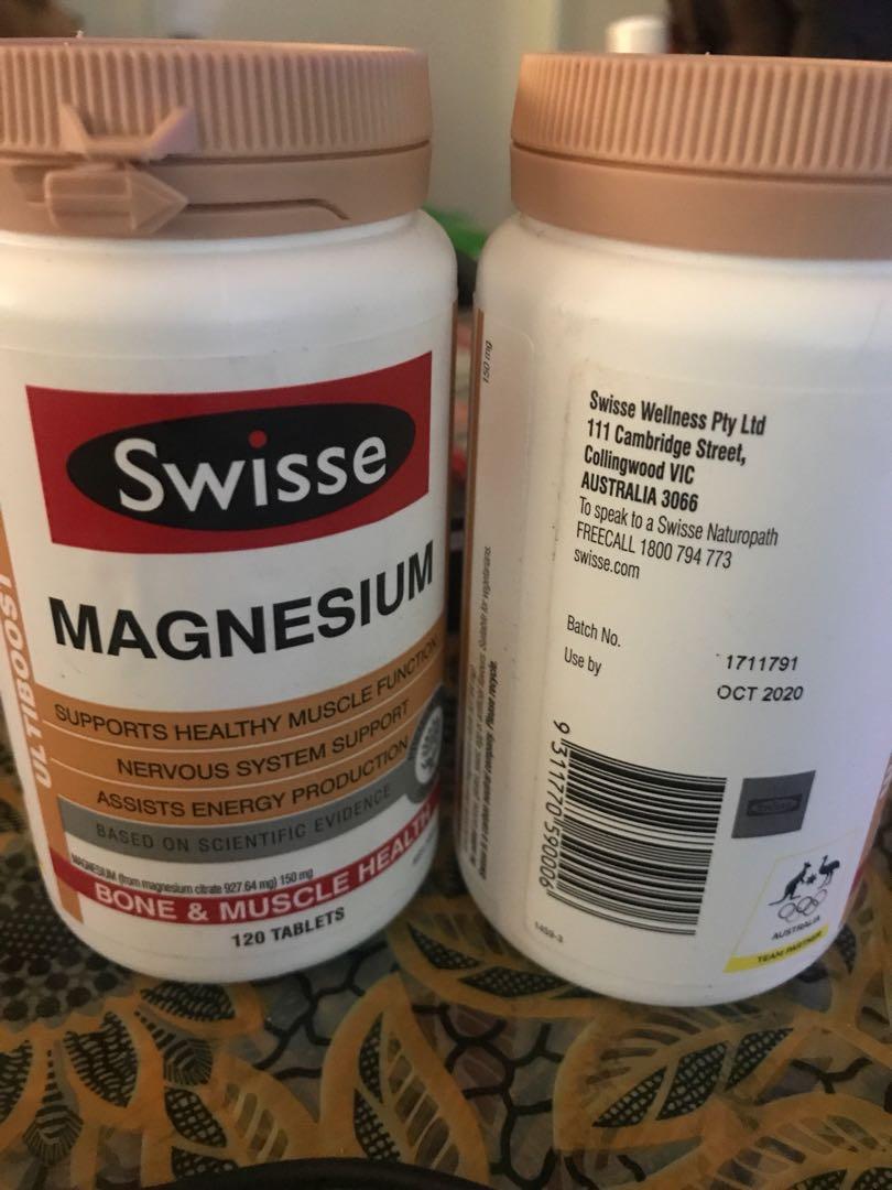 Magnesium 120 tablets swisse