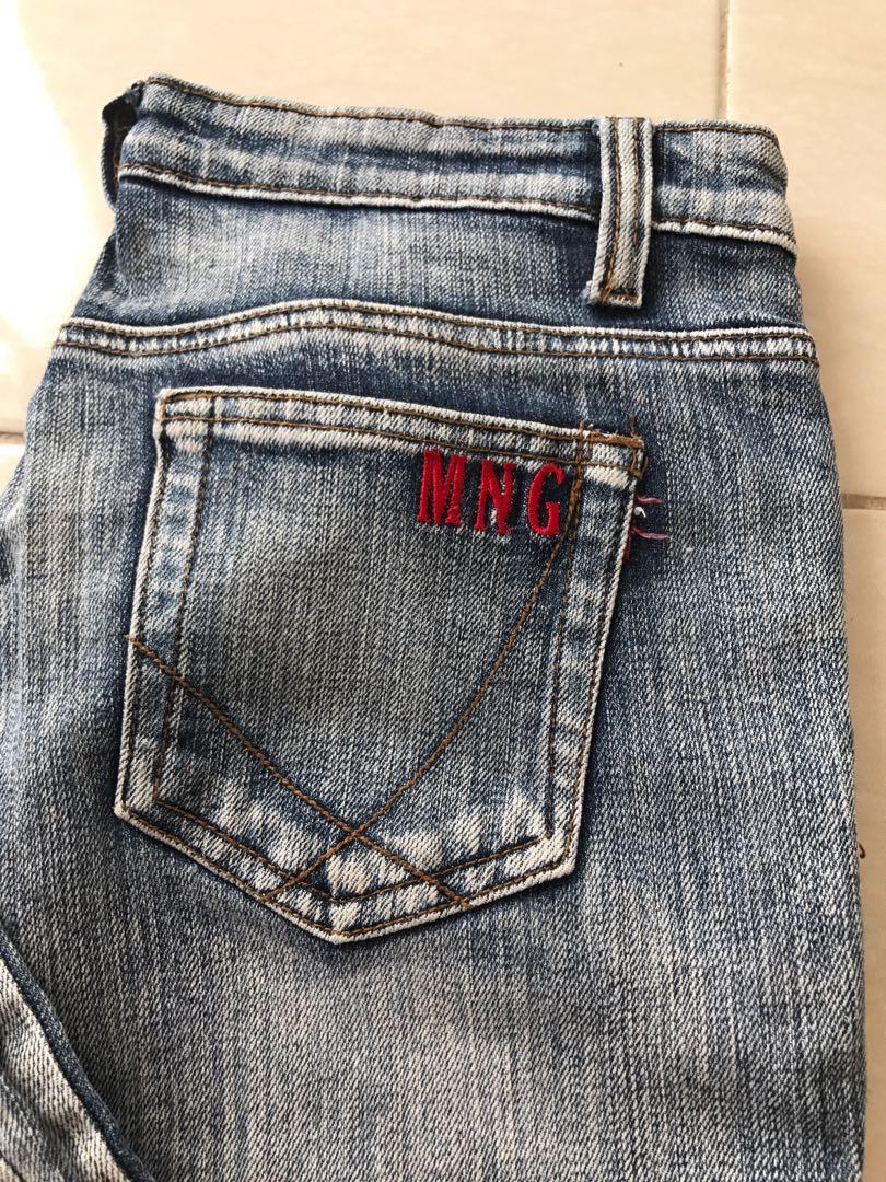 Mango flare jeans