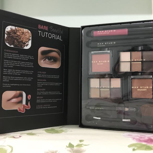 Max Studio Bare Beautiful Make-Up Kit for Php 1,500