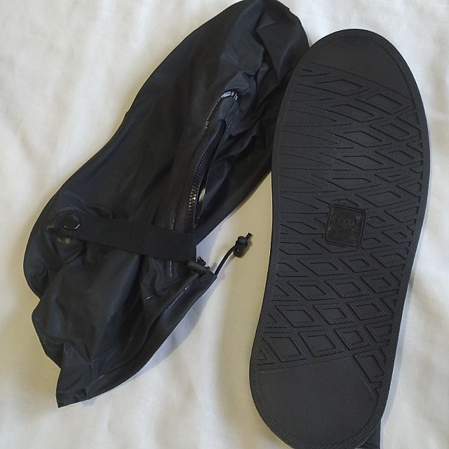 Men's Black Reusable Waterproof Shoe Cover