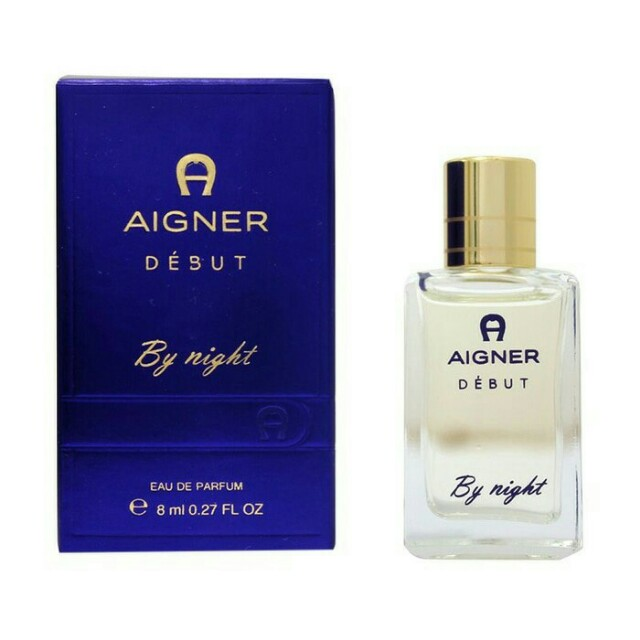 Miniature parfume aigner debut by night