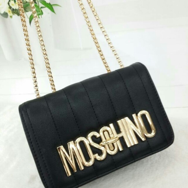 attractive & durable top fashion how to get Moschino Sling Bag