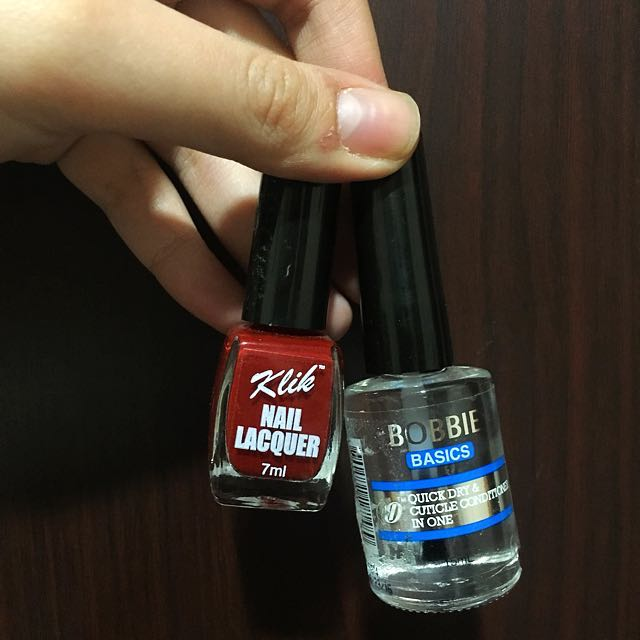 Nail Polish and Quick Dry