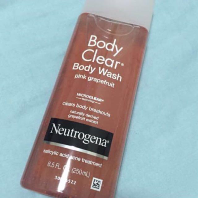 Neutrogena Salicylic Acid Acne Treatment Body Wash Health