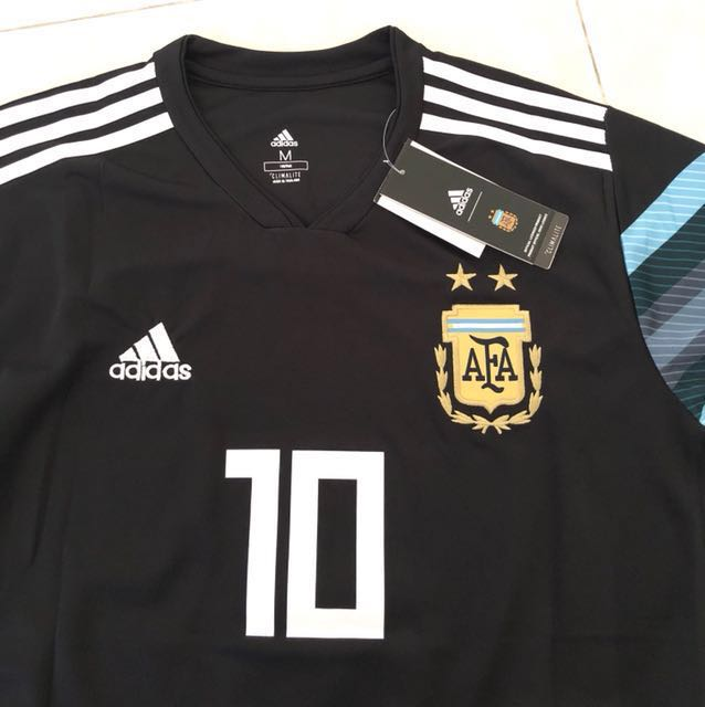 separation shoes 0b1ec afaf1 New 2018 Argentina World Cup Away Jersey M Size Messi 10 ...