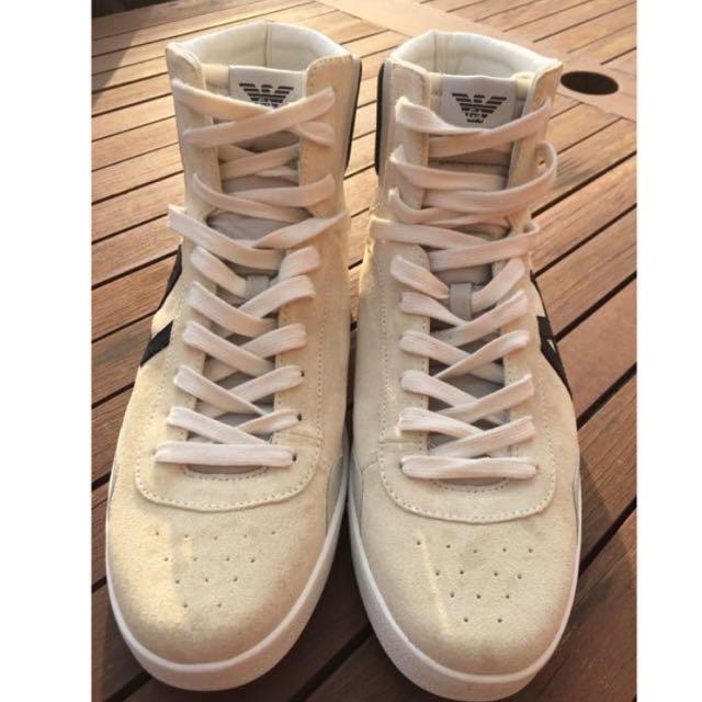 New Armani Jeans Sneakers Mens Size 9 (EU 43)