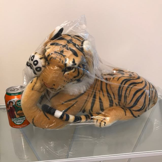 New Japan Huge Tiger Plush Bengal Tiger Toys Games Bricks
