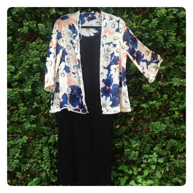 New look flower outer top