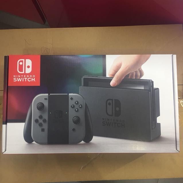 Nintendo switch with 1 free game