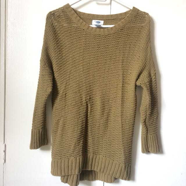 Old Navy Moss Green Sweater