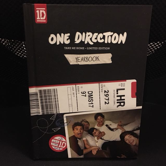 One direction take me home limited edition album