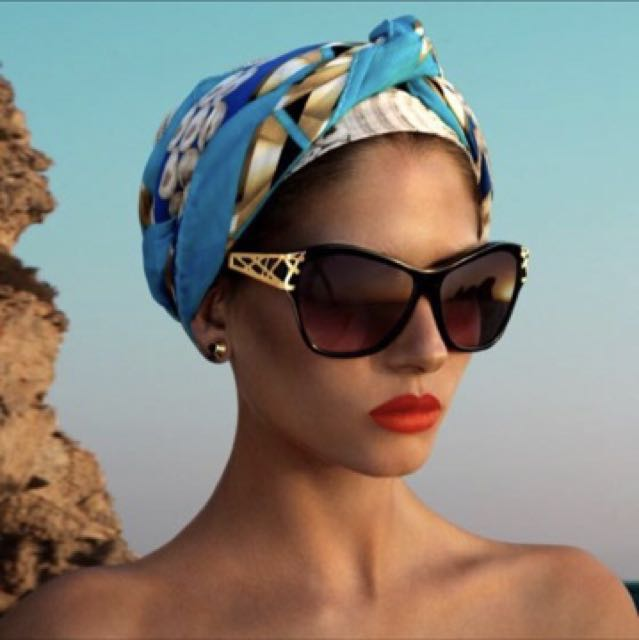 Original Lara bohinic Cuba sunglasses - as new- London designer cannot be purchased in Australia