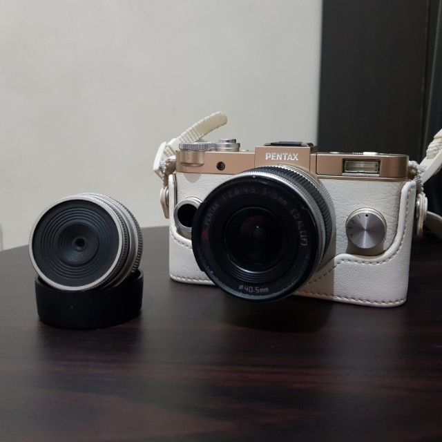 Pentax Q-S1 with 02 and 06 lens