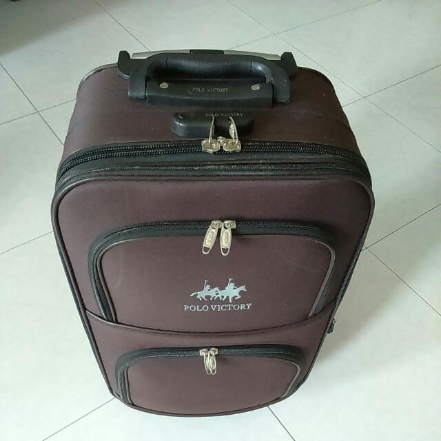 ee443fe8e93b Polo Victory Travel Luggage di Carousell