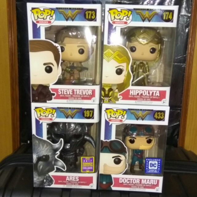 [PRE-ORDER] Wonder Woman Protagonists & Antagonists Funko Pop Bundle